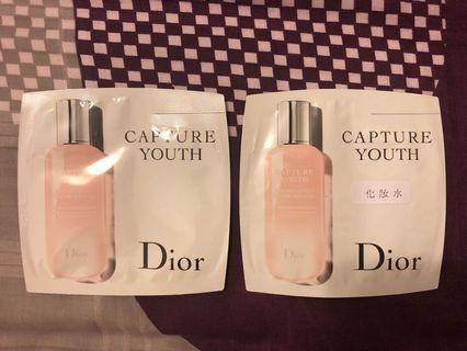 Dior Capture Youth New Skin Effect Enzyme Solution 完美青春活肌液 3ml x 2包