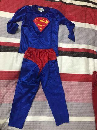 Baju Superman bahan satin