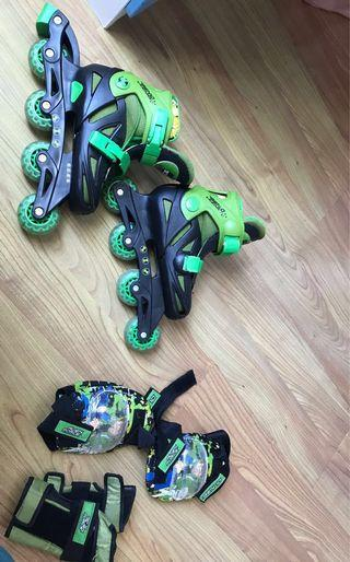 BEN 10 Rollerblades Kit (4-6 year olds)