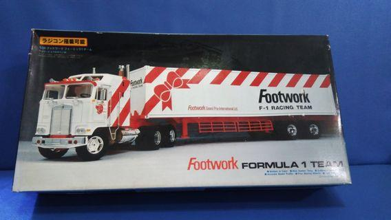 Footwork formula 1 team  1/28