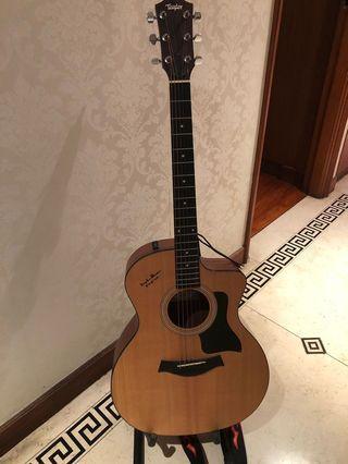 Taylor Guitar 114CE 🎸 連原裝taylor袋 一隻Capo 結他帶