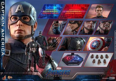 Hottoys Captain America End Game 4月27日 公開首日訂單