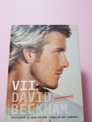 🚚 David Beckham Photo Book