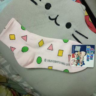 Crayon ShinChan Pink Ankle Socks