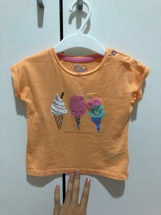 Mothercare girl tshirt