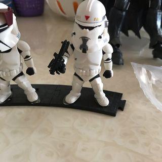 Star Wars發光模型
