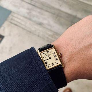 Cartier Tank Louis Gold (Mechanical)