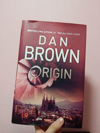 🚚 Origin by Dan Brown (hardcover)