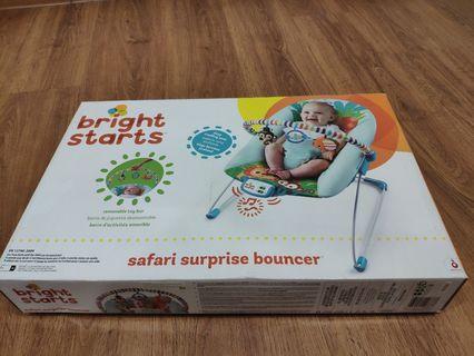 Bright Starts Safari Surprise Bouncer