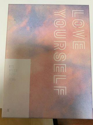 BTS love yourself Seoul tour dvd FULL set (unsealed) WITH SUGA's PC AND V POSTER