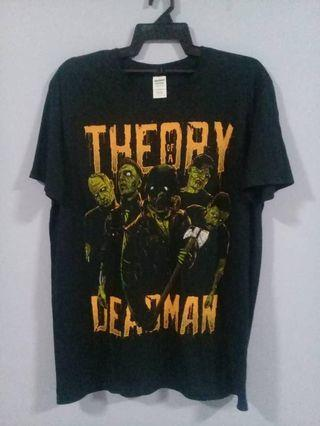 Theory of the deadman band tshirt