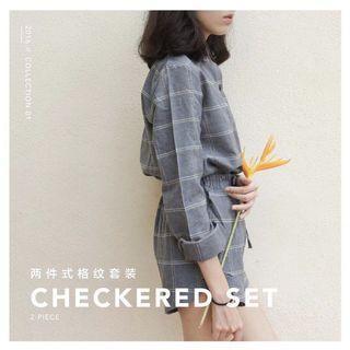 🚚 Checkered set