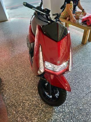 高雄 山葉 YAMAHA Limi 115 原廠車殼/紅色車殼/全車面板 整台有色部份 便宜賣喔!