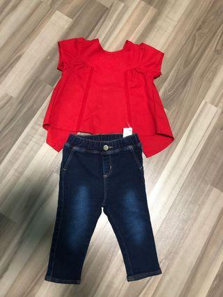 🚚 Blouse and Jeans