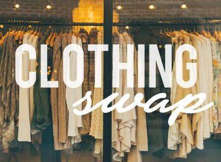 Clothing swap party !! Bring and take #swapAU