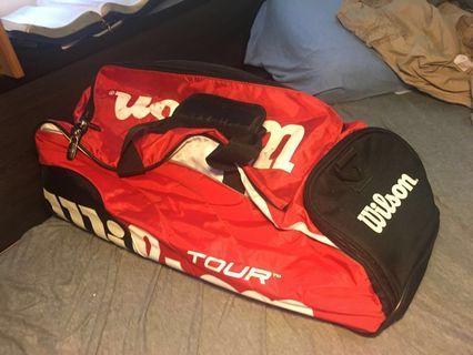 Wilson運動提包 網球袋 籃球袋 運動鞋袋