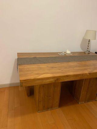 kotak dining table - rectangular