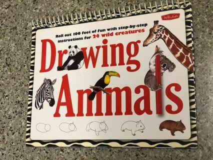 Kid drawing book
