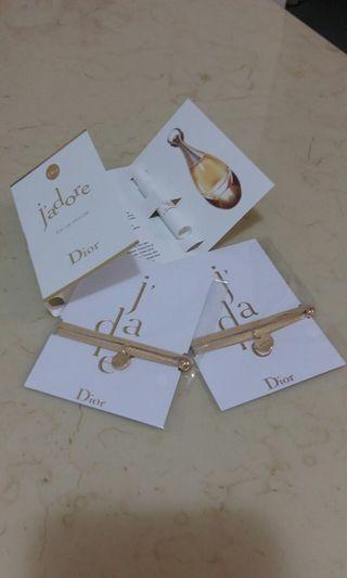 Dior 香水+手繩