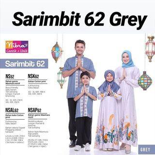 Sarimbit grey 62