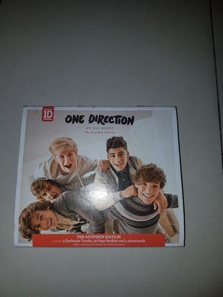 Album up all night souvenir edition-one direction