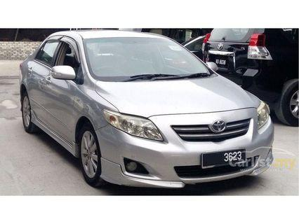LOOKING for Toyota Altis