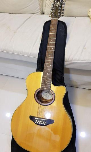 Yamaha APX-4-12A Acoustic Electric 12-string Guitar