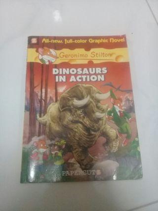 Geronimo Stilton: Dinosaurs in Action
