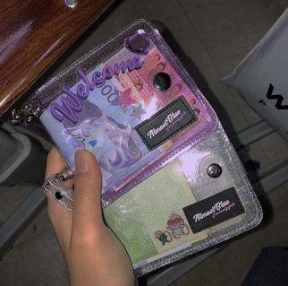 [READY STOCK]/PRE ORDER Twinkle Jelly Transparent Wallet