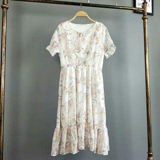 氣質花卉洋裝