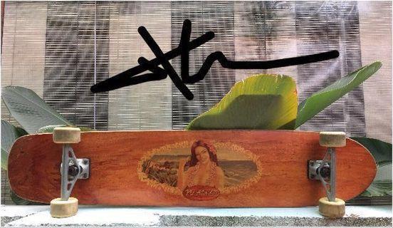 Surf One No Ka Oi Complete Longboard - 9.25 x 43.75 Skateboard