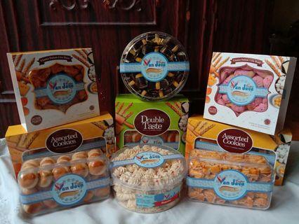 Vanjava Cookies Kue kering kue lebaran dan oleh oleh