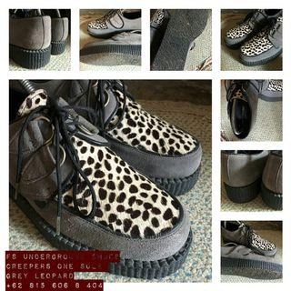 Creepers One Sole Grey Leopard