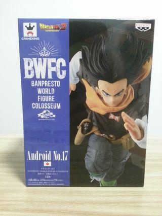 日版全新 龍珠Z 造型天下一武道會2 其之三 人造人17號 Dragon Ball Z Banpresto World Figure Colosseum 2 Vol.3 Android No.17
