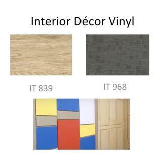 Interior Decor Vinyl  1.23m x 2m