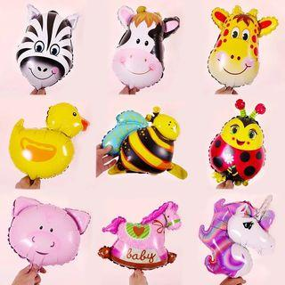 Mini Animal Foil Balloons
