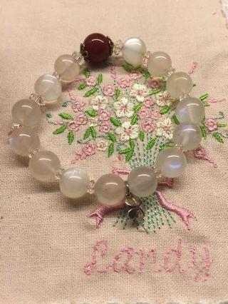 🌸版娘珍寶🌸🎀含運🎀🈹️愛了~超美的月光石手環