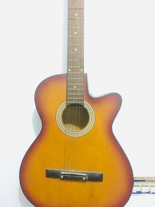 #bapau gitar clasic merek lokal