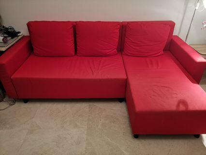 IKEA 3 seat sofa bed / corner sofa