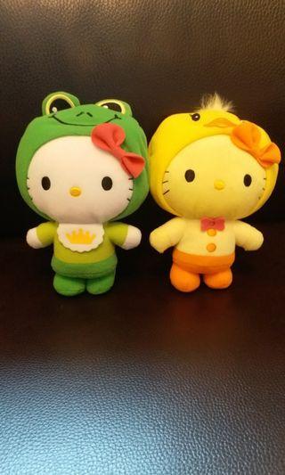 Hello Kitty公仔絕版公仔擺設全新Hello MiMi 哈佬吉蒂 Sanrio麥當勞