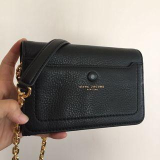 美國代購- Marc Jacobs鏈包 側背包 錢包側背兩用包