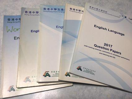 2012至2017年度English language paper