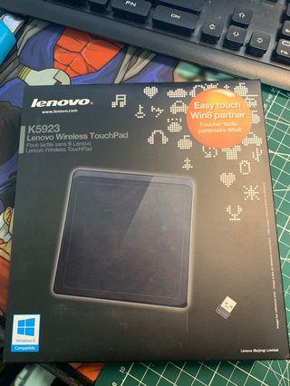 Lenovo 聯想 K5923 easy touch win8 partner 。Lenovo wireless touchpad