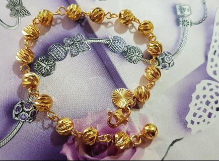 24k Gold Plated Kids Bracelet