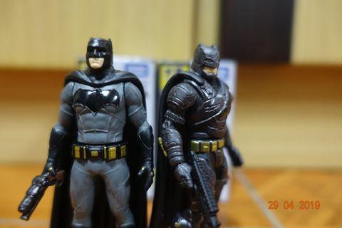 二手 正版 TOMICA TAKARA TOMY Batman,超人,重裝甲蝙蝠俠合金人仔