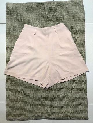 Uniqlo Baby Pink Shorts