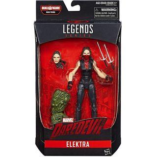 Marvel Legends 2017 Netflix MCU Electra Man-Thing BAF Defenders
