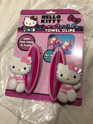 Hello Kitty Towel Clip