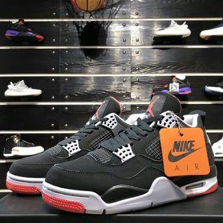"""Air Jordan 4 """"Bred"""" AJ4 黑紅復刻 Black Infrared nike鉤子 籃球鞋"""