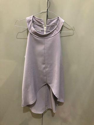 baju bangkok baju formal baju halter abu grey